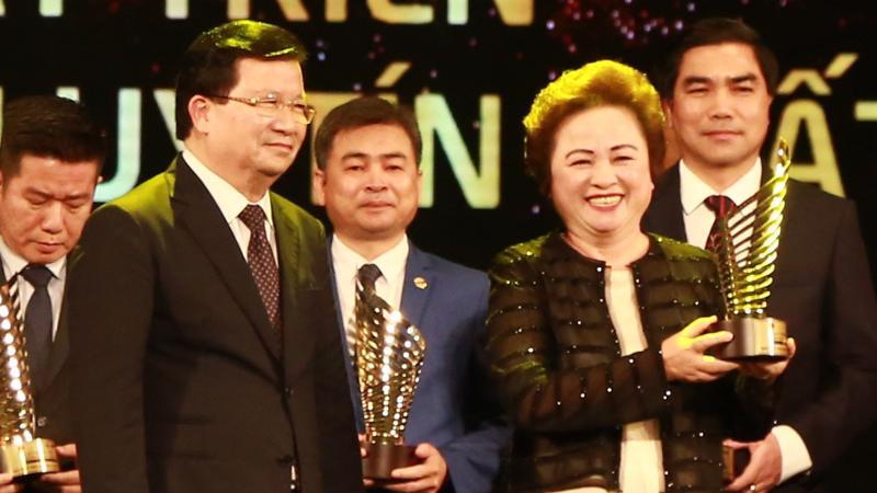 Việc nhận được giải thưởng này là sự ghi nhận cho những đóng góp của Tập đoàn BRG trong lĩnh vực bất động sản tại Việt Nam.