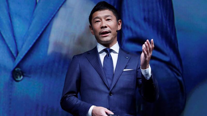 Tỷ phú Yusaku Maezawa - Ảnh: Bloomberg.