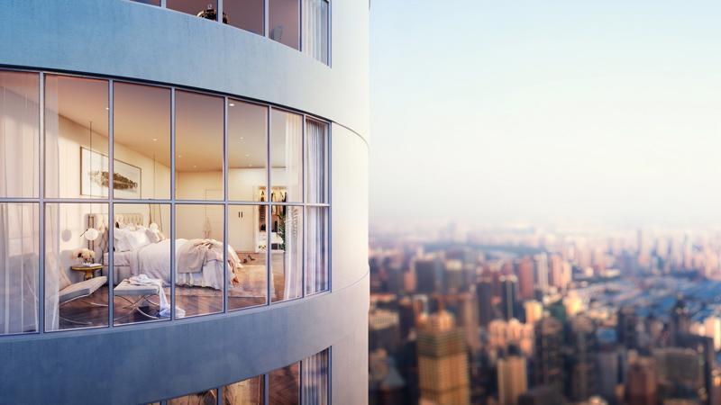 Phối cảnh thiết kế Manhattan Tower tại 21 Lê Văn Lương, Hà Nội.