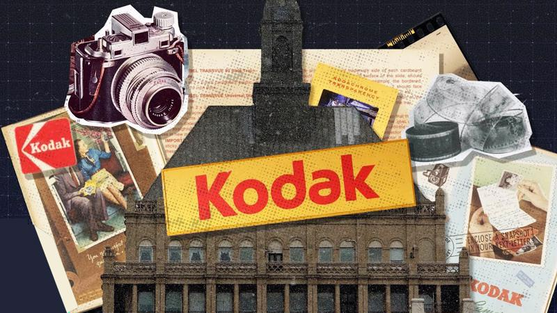 Từng là một biểu tượng trong ngành máy ảnh phim, Kodak rơi vào khủng hoảng trong nhiều thập kỷ trước khi trở lại là một nhà sản xuất thuốc vào năm 2020 - Ảnh: CNBC