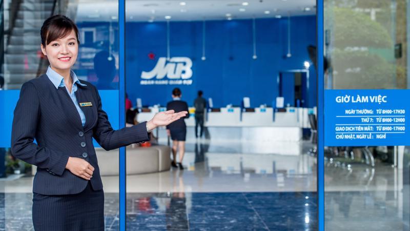 MBB nằm trong nhóm các ngân hàng có chất lượng tài sản tốt và hệ thống quản trị rủi ro chặt chẽ, luôn thấp hơn trung bình ngành năm 2017 2,5%.
