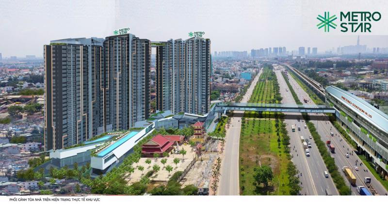 Từ Metro Star, việc di chuyển vào khu vực trung tâm quận 1 vô cùng dễ dàng và thuận tiện.