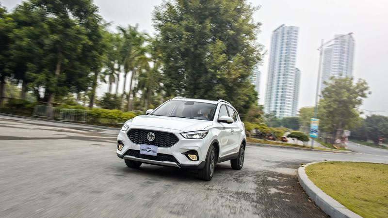 Tại thị trường Thái Lan, MG ZS đang là mẫu xe B-SUV bán chạy nhất.