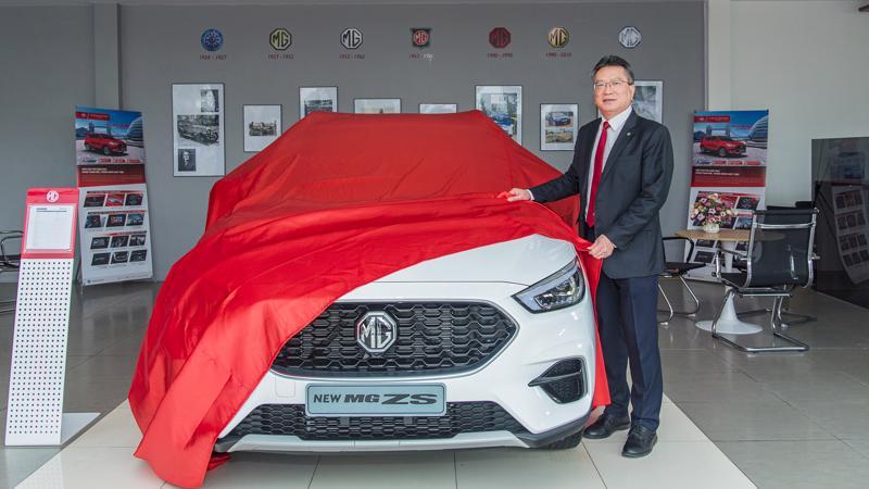 Phiên bản mới MG ZS Smart Up STD+ 2021 vừa về thị trường Việt Nam.