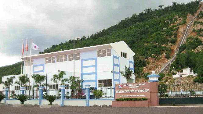 Dự án Thủy điện Ea Krông Rou là dự án đầu lòng của SEB được đầu tư theo hình thức B.O.O.