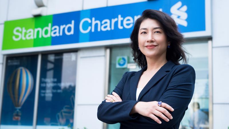 Chân dung nữ Tổng giám đốc mới của ngân hàng Standard Chartered Việt Nam.