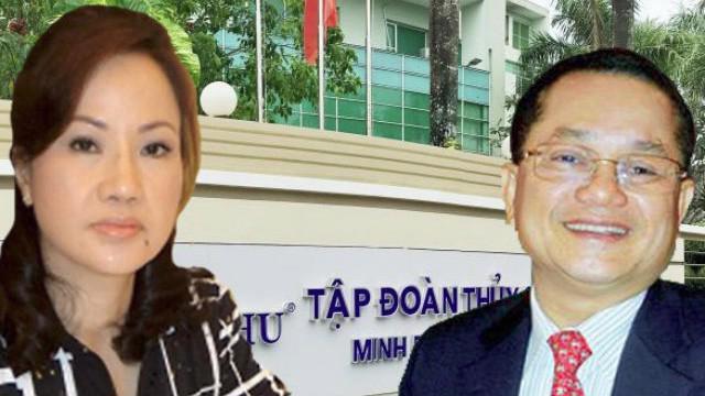 Bà Chu Thị Bình và chồng Lê Văn Quang