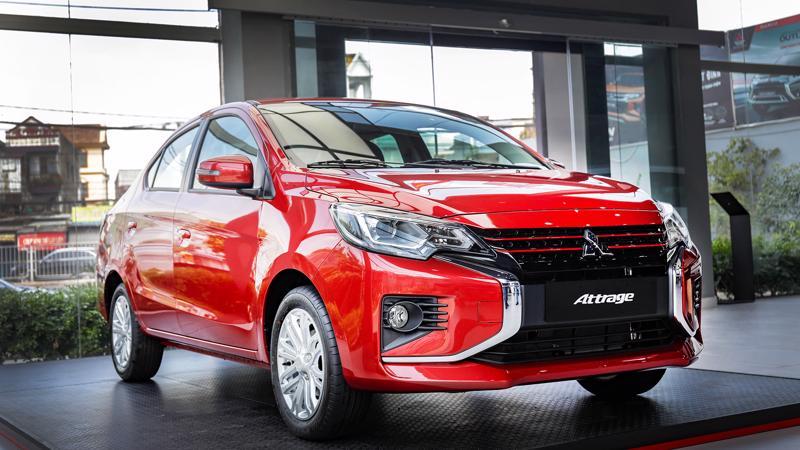 Mitsubishi Attrage CVT Premium được nhập khẩu nguyên chiếc từ Thái Lan và phân phối với mức giá bán lẻ 485 triệu đồng.