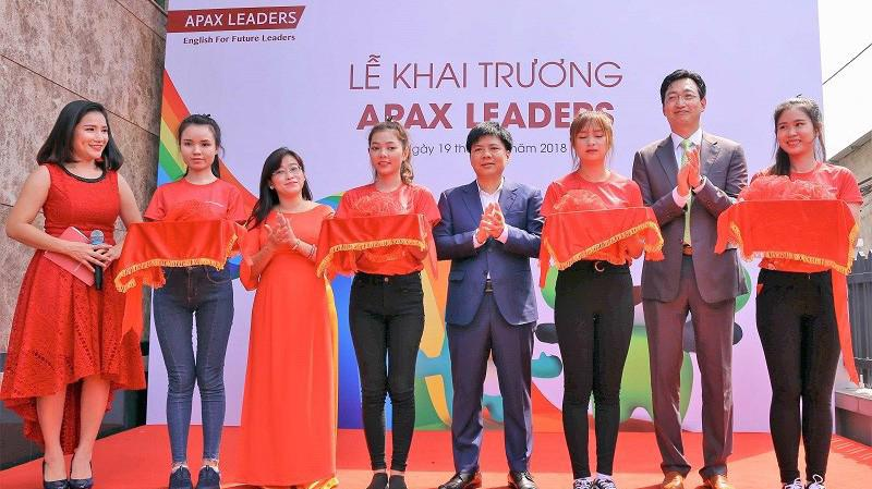 Apax Leaders ra mắt tại Tp.HCM với mục tiêu tiếp tục phát triển và mở rộng môi trường học tập chuẩn quốc tế cho trẻ em Việt Nam.