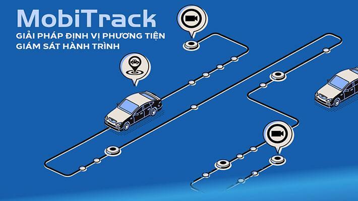 MobiFone đã cho ra đời giải pháp định vị phương tiện MobiTrack.