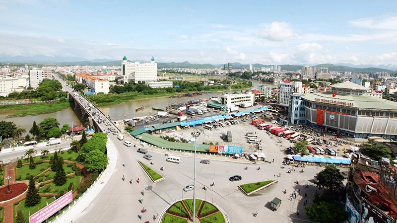 Khu kinh tế cửa khẩu Móng Cái - Ảnh: VGP