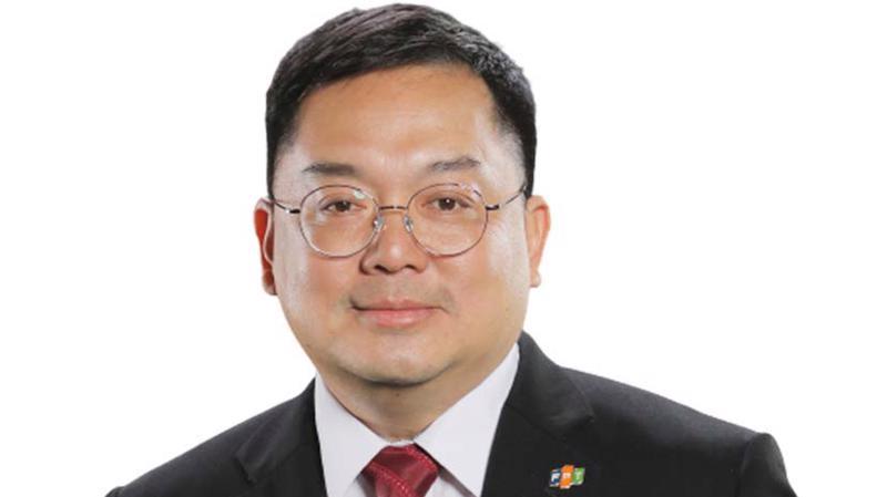 Ông Hoàng Nam Tiến, Chủ tịch HĐQT Công ty cổ phần Viễn thông FPT (FPT Telecom).