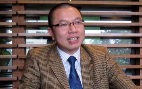 """Ông Trần Như Trung: """"Thị trường hiện nay đang khó khăn nhưng đây cũng có thể là cơ hội cho một lớp nhà đầu tư mới xuất hiện"""".<br>"""