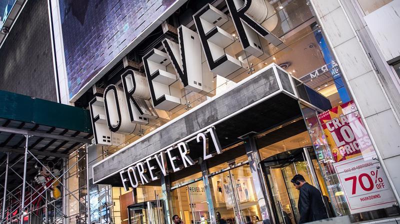 Việc xin phá sản có thể giúp Forever 21 loại bỏ các cửa hàng không có lợi nhuận và huy động được nguồn vốn mới - Ảnh: Getty Images.