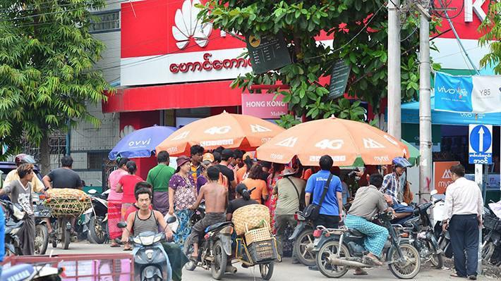 Mạng di động của Viettel tại Myanmar nhận được sự quan tâm của đông đảo người dùng xứ Chùa vàng.