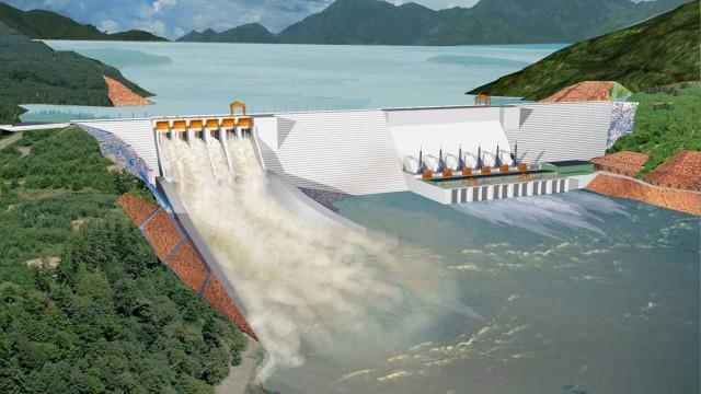 Thuỷ điện Nậm He - một trong những dự án do Sông Đà 7 đầu tư.