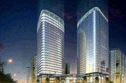 Phối cảnh Khu phức hợp Khách sạn, thương mại và nhà ở HH2, diện tích 5,6 ha.