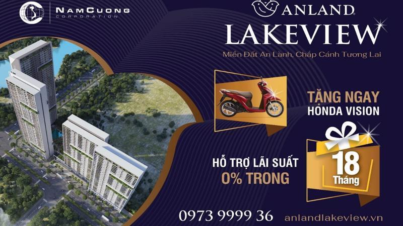 Nhiều ưu đãi hấp dẫn trong chính sách bán hàng của dự án Anland Lakeview.