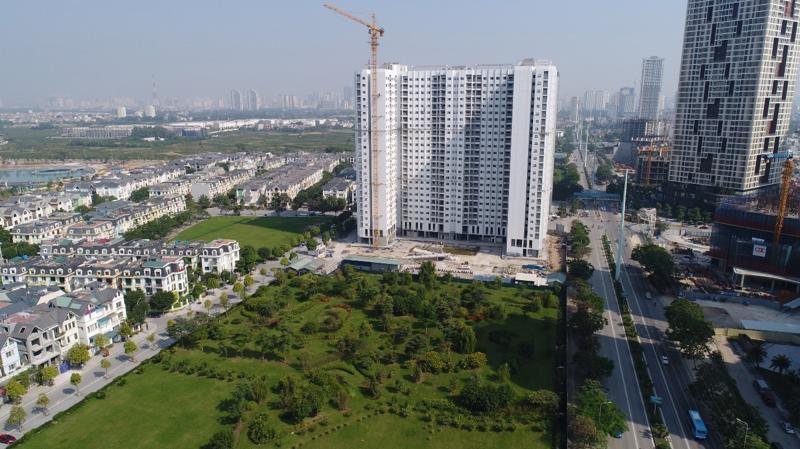 Tiến độ bán hàng của Anland Premium đạt hơn 80% tổng số căn hộ.