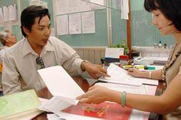 Văn phòng đăng ký sử dụng đất được chia làm hai cấp.