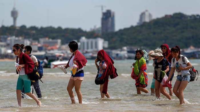 Du khách quốc tế tới Thái Lan đạt kỷ lục 38,3 triệu lượt vào năm 2018 - Ảnh: Getty Images.