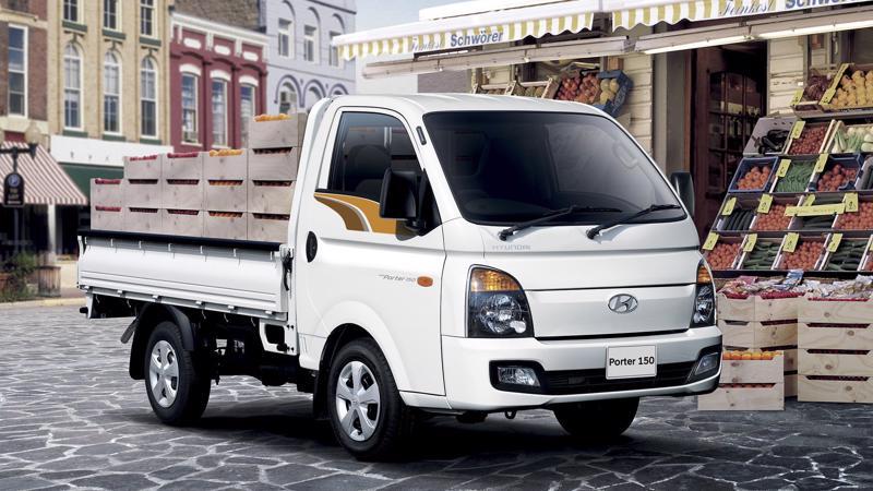 New Porter 150 có kiểu dáng của một dòng xe tải cao cấp.