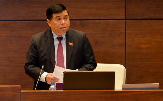 Bộ trưởng Nguyễn Chí Dũng cho biết: Chính phủ chia các quy hoạch đã được duyệt làm hai loại: với loại quy hoạch được xác định là phù hợp thì sẽ thực hiện hết thời kỳ quy hoạch; loại không phù hợp thì phải được điều chỉnh theo quy định của luật quy hoạch mới. <br>