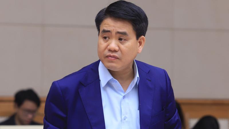 Cựu Chủ tịch Hà Nội Nguyễn Đức Chung