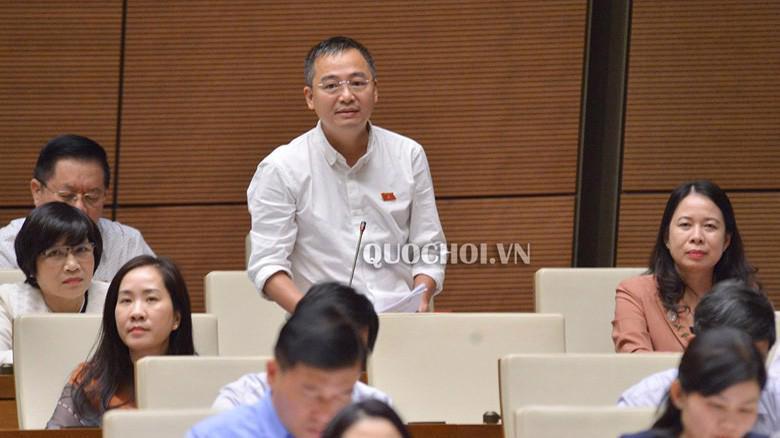 Đại biểu Nguyễn Lân Hiếu (An Giang) phát biểu tại Quốc hội.