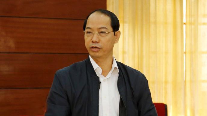 Ông Nguyễn Đắc Lộc, Phó chi cục trưởng Chi cục Quản lý thị trường Hà Nội.