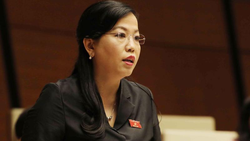 Trưởng ban Dân nguyện Nguyễn Thanh Hải chất vấn Bộ trưởng Bộ Giáo dục và đào tạo Phùng Xuân Nhạ