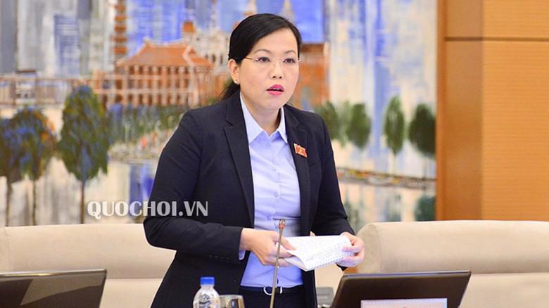 Trưởng ban Dân nguyện Nguyễn Thanh Hải phát biểu tại phiên họp.