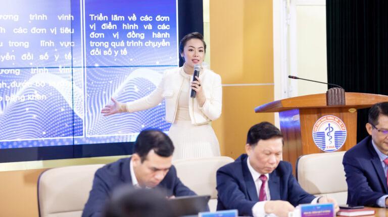 Chuyên gia Nguyễn Thy Nga, Tổng Giám đốc V-startup chia sẻ tại Chương trình.