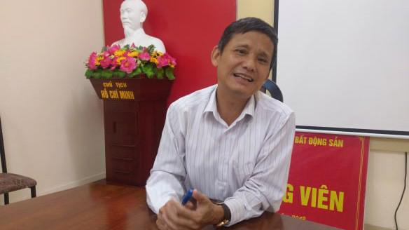 Ông Nguyễn Trọng Ninh, Cục trưởng Cục Quản lý Nhà ở và thị trường Bất động sản - Bộ Xây dựng.