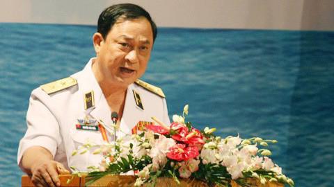 Ông Nguyễn Văn Hiến, nguyên Thứ trưởng Bộ Quốc phòng, nguyên Tư lệnh Quân chủng Hải quân.