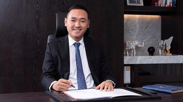 Chủ tịch 8X của Công ty Cổ phần Đầu tư nước sạch Sông Đà.