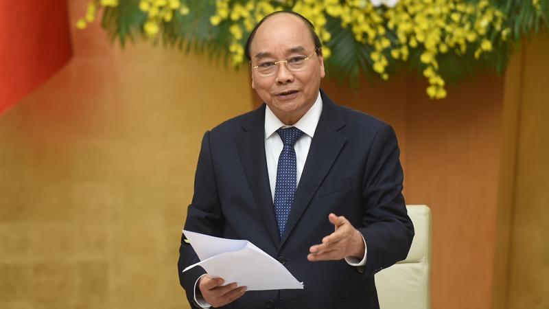 Thủ tướng Nguyễn Xuân Phúc - Ảnh: VGP