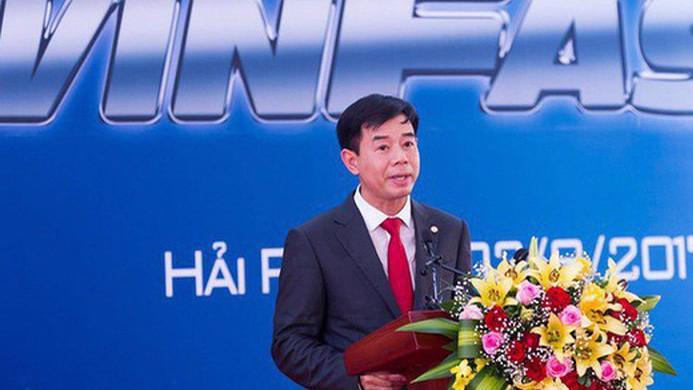 Ông Nguyễn Việt Quang - Phó chủ tịch kiêm Tổng giám đốc Tập đoàn Vingroup.
