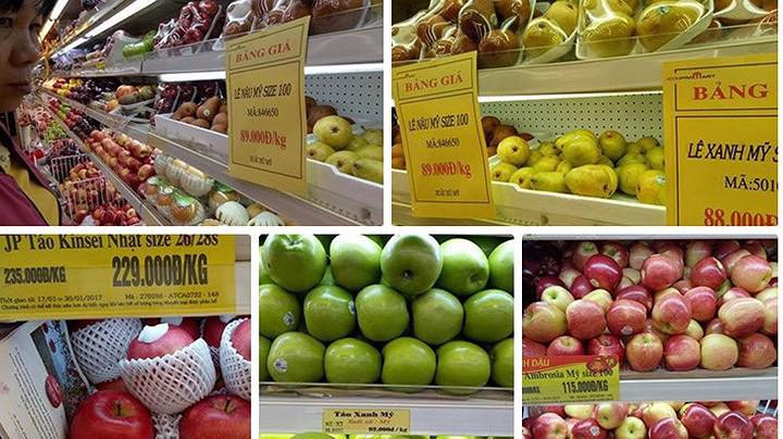 Hai thị trường mà Việt Nam nhập khẩu rau quả nhiều nhất vẫn là Thái Lan và Trung Quốc.