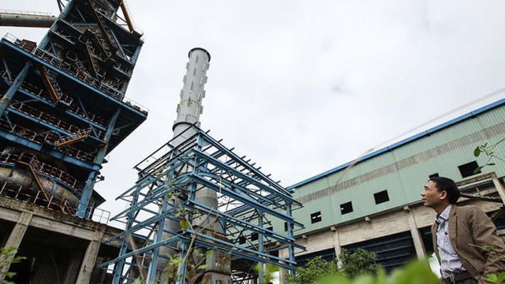 Dự án mở rộng sản xuất giai đoạn II Công ty Gang thép Thái nguyên vẫn đang xây dựng dở dang và bị tạm dừng thi công để giải quyết các vướng mắc.