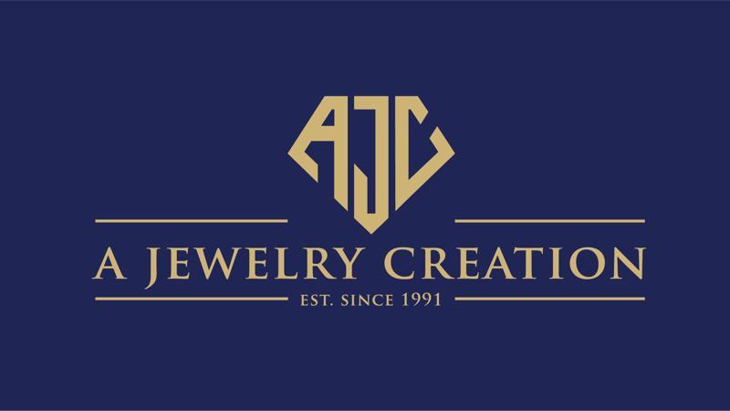 Nhận diện mới của trang sức AJC thể hiện tính hiện đại và thời thượng.