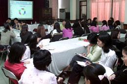 Một khóa đào tạo nhân lực ngành tài chính - Ảnh: Việt Tuấn.