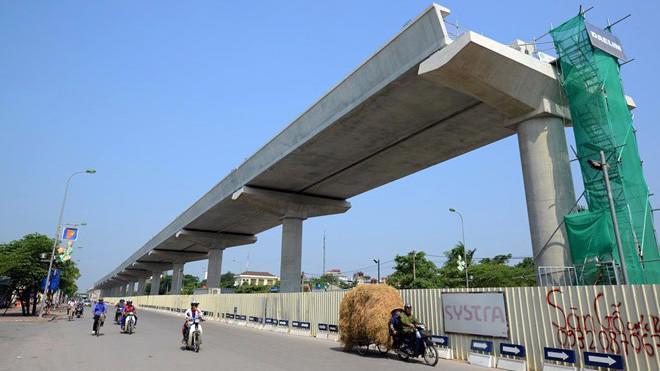 Nhà thầu doạ ngừng làm đường sắt Nhổn - Ga Hà Nội vì chậm thanh toán vốn.