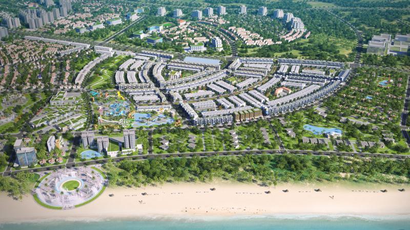 Nhơn Hội City Phân khu 2 - dự án đóng góp đáng kể vào lợi nhuận của Phát Đạt trong quý 3