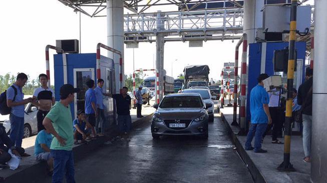 Trạm Ninh Lộc trên quốc lộ 1 do Công ty Cổ phần Đầu tư BOT Đèo Cả làm chủ đầu tư.