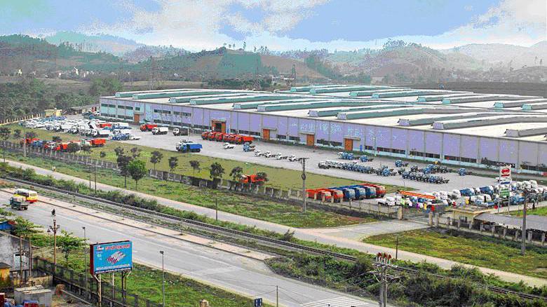 Nhà máy ô tô VEAM Thanh Hóa, công suất thiết kế 30.000 xe/năm.