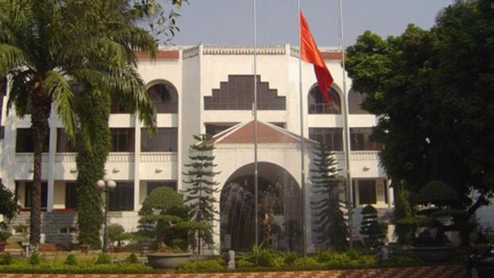 Trụ sở Bộ Nông nghiệp và Phát triển nông thôn ở số 2 Ngọc Hà, Ba Đình, Hà Nội.