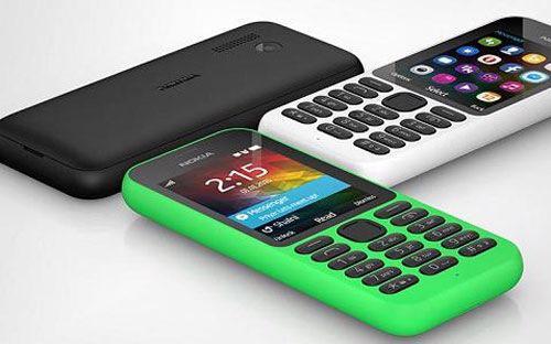 """Một dòng điện thoại phổ thông mang tên Nokia dưới """"thời"""" của Microsoft."""