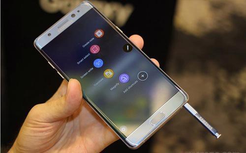 Samsung Việt Nam đã đẩy mạnh xuất khẩu các dòng sản phẩm điện thoại khác để bù vào sự sụt giảm kim ngạch xuất khẩu của Note 7.
