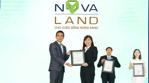 Novaland lần đầu tiên lọt top 5 báo cáo phát triển bền vững tốt nhất